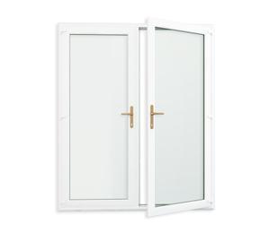 Ușa dublă (franceză)