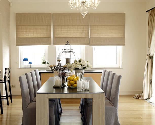 Living dining room of a modern house